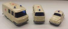 3x Traccia N Ambulanza VW MAGGIOLINO bulli MB Transporter Wiking 3tlg.