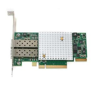 SolarFlare SFN7122F SFP+ Dual-Port 10GbE Flareon Ultra PCIe I/O Adapter