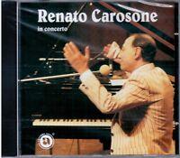 """RENATO CAROSONE """"IN CONCERTO"""" 1° Tempo SIENA 1982 CD NUOVO SIGILLATO"""
