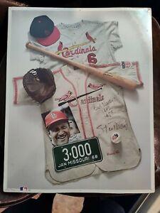 "No. 12 ""Stan 'The Man' Musial"" First Edition Memorabilia Poster Cardinals"
