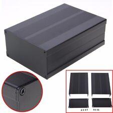 Black Aluminum Enclosure Case 150x105x55mm Box Instrument PCB Board Circuit