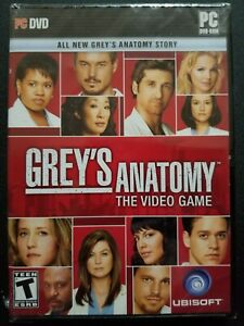 Grey's Anatomy: The Video Game (PC DVD-ROM, 2009) NEW SEALED