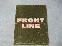 FRONT LINE  TAITO    arcade game manual