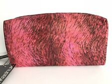 Sonia Kashuk Travel Organizer Cosmetic Bag Pink Nwt Makeup Bag New