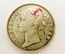 1840 silver East India Company One Rupee Queen Victoria -Genuine Old Pure Silver