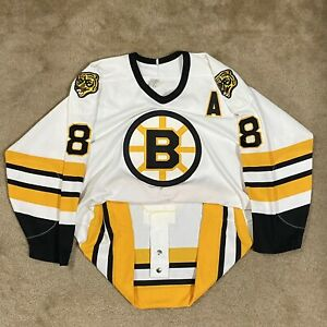 CCM Authentic Cam Neely Boston Bruins NHL Hockey Jersey Vintage White Away 48