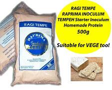 RAGI TEMPE RAPRIMA INOCULUM TEMPEH 500g Starter Inoculum Homemade Protein Vegan
