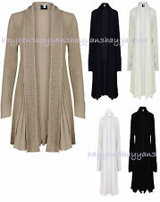 New Women Ladies  Waterfall Cardigan  Long Sleeves  Bolero
