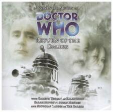 Retorno Of The Daleks (Doctor Who) por Nicholas Briggs,Nuevo Libro,Gratis y