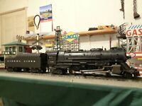 "Lionel Postwar 736 Steam Loco Berkshire & 2046W Tender "" Nice"" ready to work ! !"