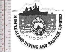 SCUBA Hard Hat Diving New Zealand Diving & Salvage Ltd Gracefield, New Zealand b