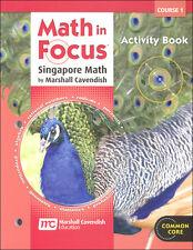 Grade 6 Math in Focus Activity Book Course 1 Edition 6th