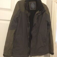 Marks & Spencers Blue Harbour Mans Jacket Green Size Medium Outerwear Used