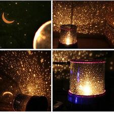 Starry Night Light Romantic Mond LED Steinhimmel Moon Sky Projector Geschenk NEU