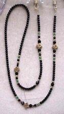 With Swarovski Crystals Eyeglass Chain ! ! Irish Gold Celtic Knot Made