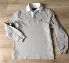 POLO RALPH LAUREN RUGBY STYLE SHIRT CUSTOM FIT SIZE S GC SEE DESCRIPTION