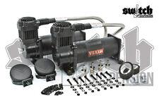 Viair 444c Black Air Compressors Dual Pack 200 PSI 100% Duty Cycle