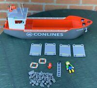 Playmobil Cargo Ship Titan 4472 Geobra CARGO Conlines