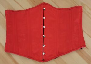 Red Under Bust Corset Size 36