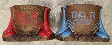 Tiki Ti Scorpion Bowl Tiki Mug Set of Blue and Red - Doug Horne - MUNKtiKi - NIB