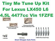 Tune Up Kit for 1997 Isuzu Trooper Fuel Filter, Oil  and Air Filter, Spark Plug