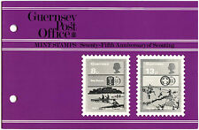 Guernsey 1982 Anniv Of Scouting MNH Presentation Pack #C40466