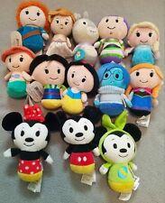Lot of 13 Disney Hallmark Itty Bittys Plush collectible dolls mickey minnie More