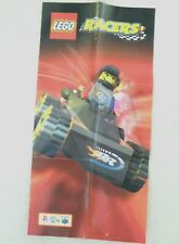 65247 Instruction Insert Poster - LEGO Racers - Nintendo 64 (1998) NUS-NLGP-EUR