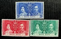 Hong Kong Stamps SC#151-53 Full Set  MNH/OG