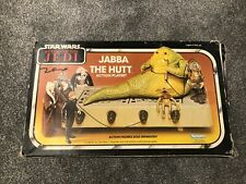 Star Wars Vintage Jabba The Hutt: Box, Sealed Contents & Instruction Booklet