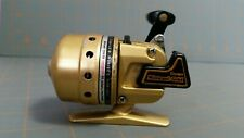 Vintage Daiwa Minicast Gold Spin Casting Fishing Reel