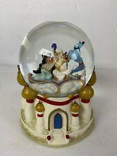 disney aladdin snow globe A Whole New World Musical Jasmin Genie Music Box