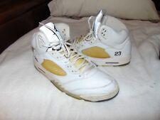 wholesale dealer cf938 ab5fe 2000 Nike Air Jordan 5 V Retro 3 4 Hi Size 13 White Metallic Silver
