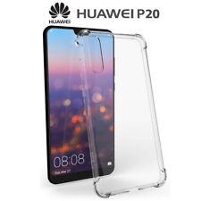 Funda Gel TPU Transparente Antigolpes para Huawei P20