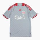 Adidas Liverpool FC 2008-09 Silver Away Football Shirt S Small Soccer Jersey