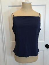 ANNE KLEIN ~ Women's Rayon Blend Camisole Top - Lapis Blue (Large) - NWT