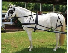 Horse Driving Harness - Black Nylon - Horse Size - Low Maintenance