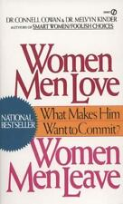 Women Men Love, Women Men Leave: What Makes Men Want to Commit?-ExLibrary