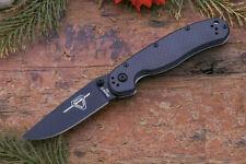 Couteau Ontario Rat II D2 Military Manche Fibre de Carbone/G10 Acier D2 ON8834
