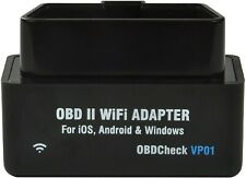 Veepeak Mini WiFi OBD2 Scanner for iOS and Android, Car OBD II Check Engine Code