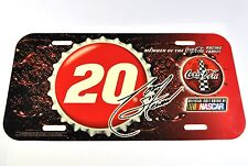 Coca-Cola Coke USA License Plate NASCAR Racing Famille Plaque d'immatriculation