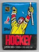 SEALED 1988 TOPPS Ice Hockey Wax PACK NHL Unopened CARDS Rookies & Vets