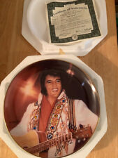 Elvis Presley Remembering Elvis Collectors Plate The Spirit By Nate Giorgio 4th