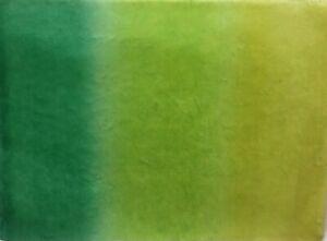 10 70X47cm sheets FINE MULBERRY TISSUE 25gsm FOREST TONES acid green-dark green