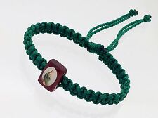 hand-woven bracelets. with St. Jude helps you in more rough times