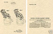 1932 MACK TRUCK BULLDOG US PATENT Print READY TO FRAME!!!! Hood Ornament cap