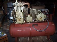 Quincy Model 255 Air Compressor With Tank 7-1/2 Hp 200 Vac Size 4-1/2 X 3-1/2