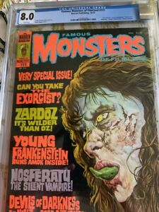 Famous Monsters of Filmland Issue #111 CGC 8.0 free shipping! no reserve!