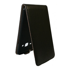 ^ MARBLED FLEXI Klapp Tasche Hülle Schutz Cover Samsung Galaxy J3 2016 Schwarz