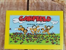 Rare Garfield All in a Day's Play Postage Stamp Guinea 1999 GS6 #157